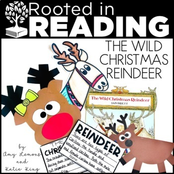 Rooted in Reading:  The Wild Christmas Reindeer and Reinde