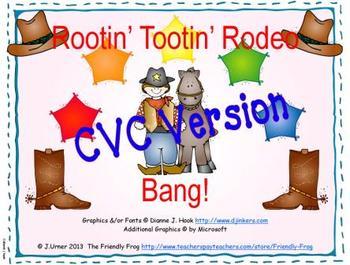 Rootin' Tootin' Rodeo Bang! CVC Version
