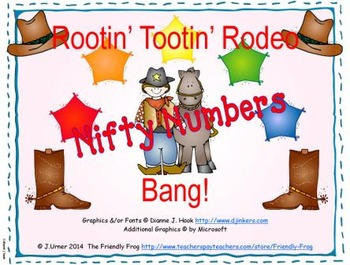 Rootin' Tootin' Rodeo Bang! Nifty Numbers