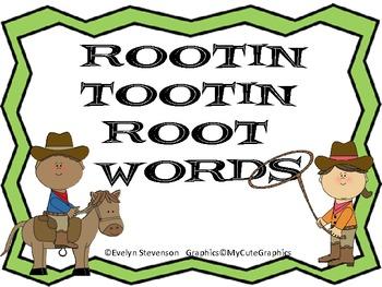 Rootin Tootin Root Words