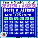 Root Word & Prefixes Jeopardy-Like Game Show for Individual or Class