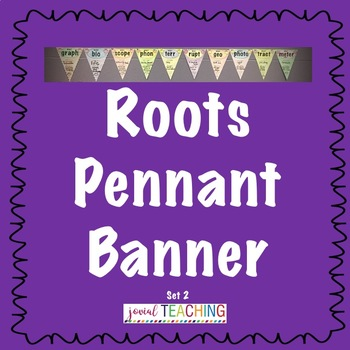 Roots Pennant Banner #1