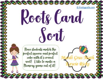 Roots Card Sort