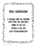 Roots Concentration, CCSS