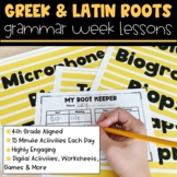 Roots | Full Week Lesson Plans for Third Grade