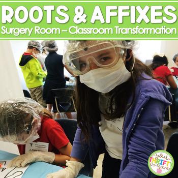 Roots Prefixes Affixes Enrichment TEST PREP Surgery Room Set the Stage