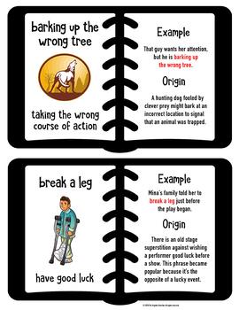 Roots Prefixes Suffixes Idioms Posters Bundle