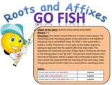 Roots and Affixes Go Fish