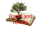 Roots and Affixes Powerpoint and Printables