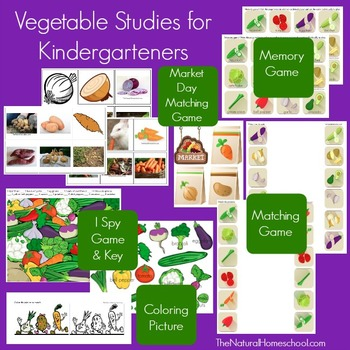 Roots and Vegetables Activities
