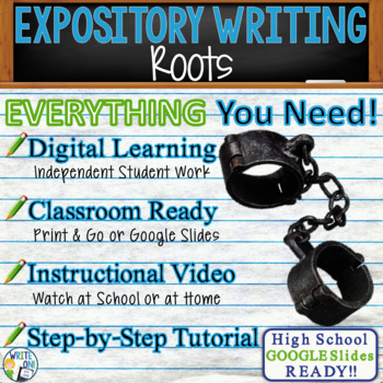 Roots by Alex Haley - Text Dependent Analysis Expository Writing