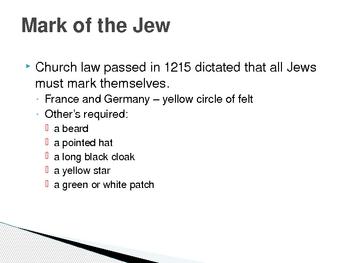 Roots of Anti-Semitism