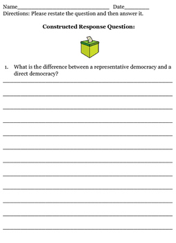 Roots of Our Democracy Take Home Test