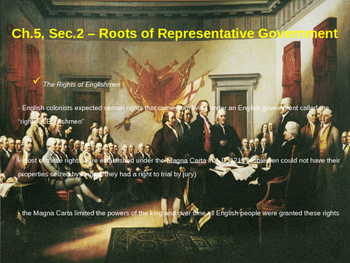 Roots of Representative Government