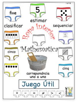 Ropa Interior Matematica: Juego Útil