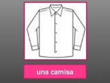 Ropa, Números, Colores (Clothing, Numbers, Colors in Spanish) power point