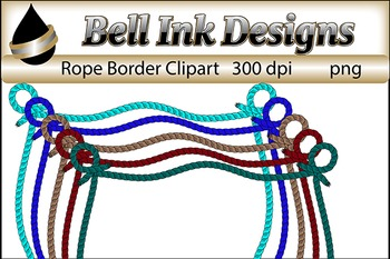 Rope Borders Clipart