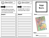 Rope Burn Storytown Comprehension Trifold