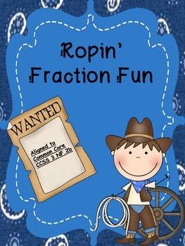 Ropin' Fraction Fun Freebie