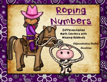 Roping Numbers: Math Centers with Missing Addends, Differentiated