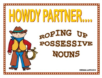 Roping Up Possessive Nouns