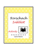 Rorschach Inkblot * Activity