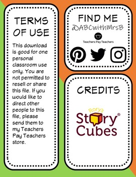 Rory's Story Cubes For Therapy