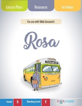 Rosa Lesson Plans & Activities Package, Fifth Grade (CCSS)