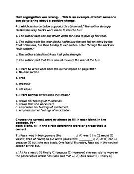Rosa-McGraw-Hill Wonders Series Quiz