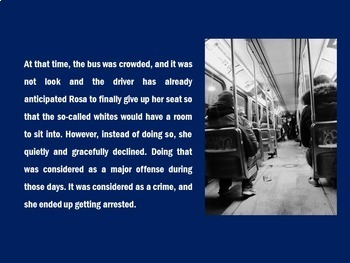 Rosa Parks PowerPoint | Black History Month Activity