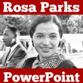 Rosa Parks PowerPoint | Rosa Parks Activity | Rosa Parks Biography