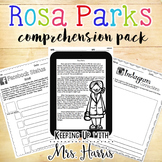 Rosa Parks Comprehension Pack