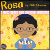 Rosa Parks (Rosa by Nikki Giovanni Biography Study)
