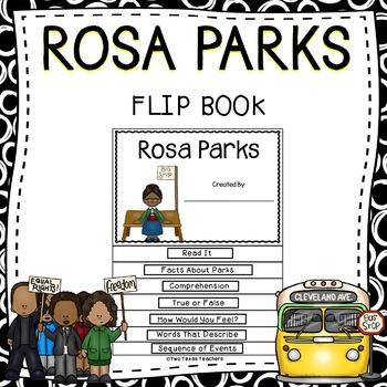 Rosa Parks Flip Book