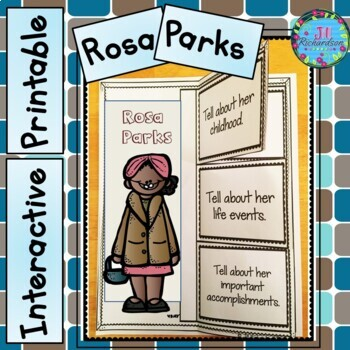 Women's History Month - Rosa Parks Writing