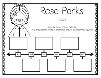 Rosa Parks: A Biography Pack