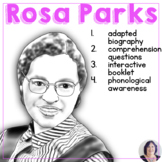 Rosa Parks: A Biography with Picture Supported Text for Sp