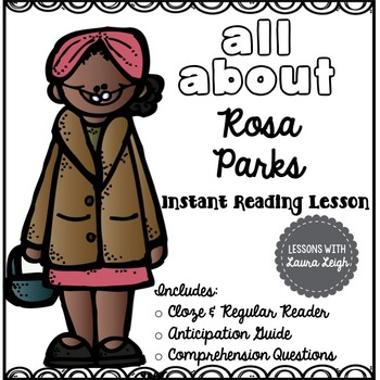 Rosa Parks Instant Reading Lesson