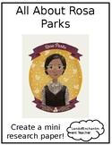 Rosa Parks: A Mini Research Paper