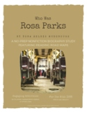 Rosa Parks - A Nonfiction Book Study and Biography