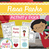 Rosa Parks Activity Pack | Black History Month Printable Worksheets for Kids