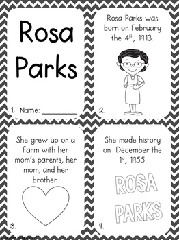 Black history month worksheets third grade