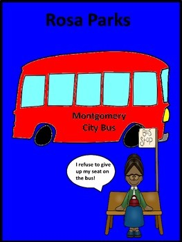 Black History Hero Rosa Parks Biography and Activity Book