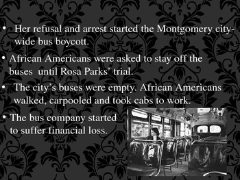 Rosa Parks- An Inspiration to All
