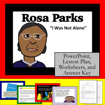 """Rosa Parks : """"An Interview: I Was Not Alone"""" Cause and Effect, Nelson Mandela"""