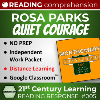 Rosa Parks Assertive Communication Reading Comprehension Lesson - Article 005