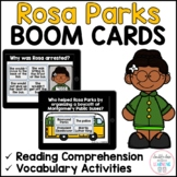 Rosa Parks BOOM CARDS™ for Distance Learning