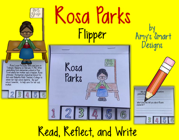 Rosa Parks Biographical Flipper
