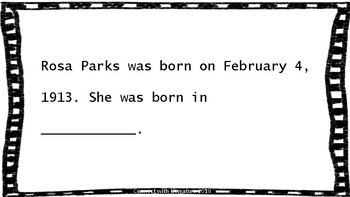 Rosa Parks - Biography