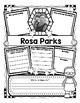 Rosa Parks Research Organizers for Women's History Month